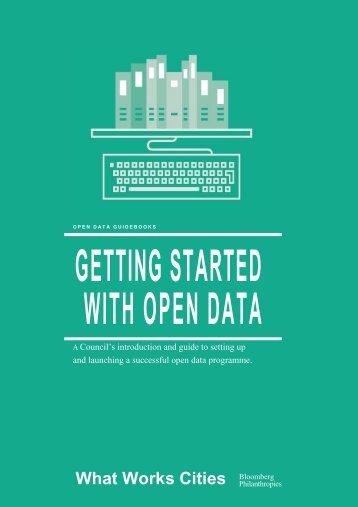 GETTING STARTED WITH OPEN DATA