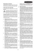 BlackandDecker Maschera Da Taglio- Ks900sl - Type 1 - Instruction Manual (Romania) - Page 5