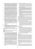 BlackandDecker Maschera Da Taglio- Ks900sl - Type 1 - Instruction Manual (Romania) - Page 6