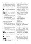 BlackandDecker Maschera Da Taglio- Ks900sl - Type 1 - Instruction Manual (Romania) - Page 7
