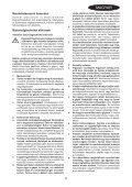 BlackandDecker Maschera Da Taglio- Ks800s - Type 1 - Instruction Manual (Ungheria) - Page 5