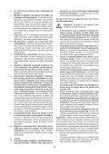 BlackandDecker Maschera Da Taglio- Ks800s - Type 1 - Instruction Manual (Ungheria) - Page 6