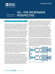 5G—THE MICROWAVE PERSPECTIVE