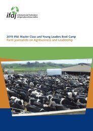 Farm journalists on Agribusiness and Leadership