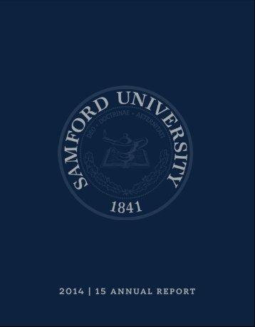 2014   15 ANNUAL REPORT