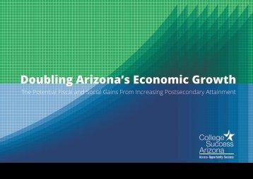 Doubling Arizona's Economic Growth