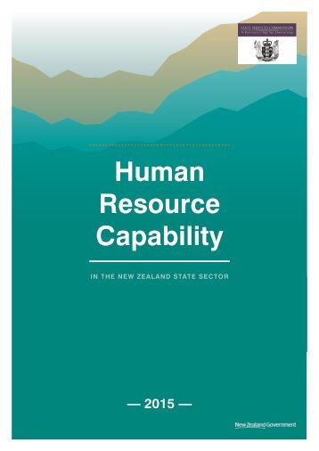 Human Resource Capability