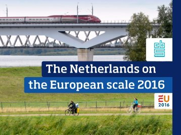 The Netherlands on the European scale 2016