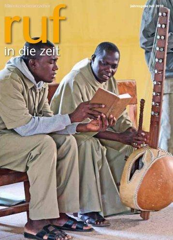 Sala na kazi – ora et labora – bete und arbeite