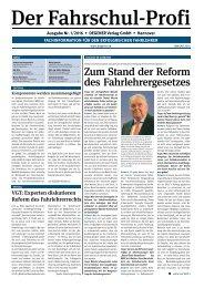 DEGENER-Fahrschul-Profi 1/2016