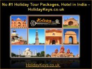 No #1 Holiday Tour Packages, Hotel in india - HolidayKeys.co.uk