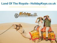 Land of the Royals - HolidayKeys.co.uk