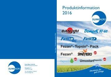 Sumi Agro Produktinformation 2016