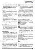 BlackandDecker Sega Circolare- Ks1500l - Type 2 - Instruction Manual (Romania) - Page 7