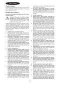 BlackandDecker Sega Circolare- Ks1500l - Type 1 - Instruction Manual (Czech) - Page 4