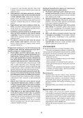 BlackandDecker Sega Circolare- Ks1500l - Type 1 - Instruction Manual (Czech) - Page 6