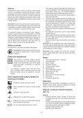 BlackandDecker Sega Circolare- Ks1500l - Type 1 - Instruction Manual (Czech) - Page 7