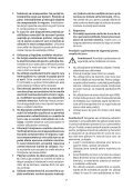 BlackandDecker Sega Taglio Angolare- Sms216 - Type 1 - Instruction Manual (Romania) - Page 7