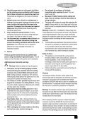 BlackandDecker Maschera Da Taglio- Ks950sl - Type 1 - Instruction Manual (Europeo) - Page 7