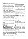 BlackandDecker Martello Ruotante- Kd860 - Type 1 - Instruction Manual (Slovacco) - Page 6