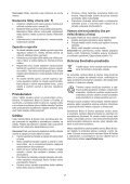 BlackandDecker Martello Ruotante- Kd885 - Type 1 - Instruction Manual (Slovacco) - Page 7