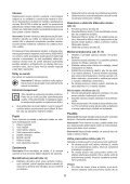 BlackandDecker Martello Ruotante- Kd1250k - Type 1 - Instruction Manual (Slovacco) - Page 6