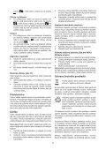 BlackandDecker Martello Ruotante- Kd1250k - Type 1 - Instruction Manual (Slovacco) - Page 7