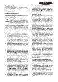 BlackandDecker Trapano Percuss Rot- Kd750 - Type 1 - Instruction Manual (Czech) - Page 3