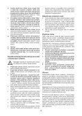 BlackandDecker Trapano Percuss Rot- Kd750 - Type 1 - Instruction Manual (Czech) - Page 4