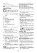 BlackandDecker Trapano Percuss Rot- Kd750 - Type 1 - Instruction Manual (Czech) - Page 5