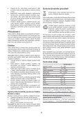 BlackandDecker Trapano Percuss Rot- Kd750 - Type 1 - Instruction Manual (Czech) - Page 6
