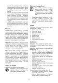BlackandDecker Martello Ruotante- Kd1001k - Type 3 - Instruction Manual (Czech) - Page 6
