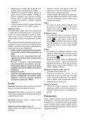 BlackandDecker Martello Ruotante- Kd1001k - Type 3 - Instruction Manual (Czech) - Page 7