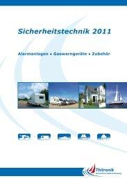 Sicherheitstechnik 2011 - Das Bordbuch