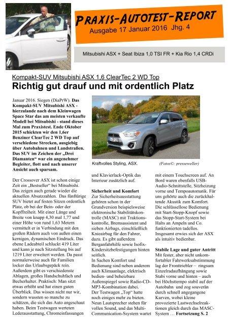 Praxis-Autotest-Report 17