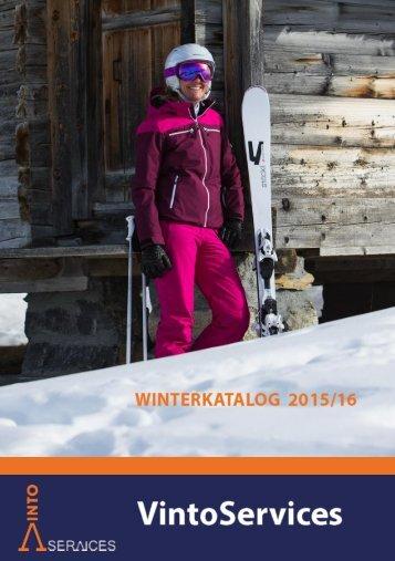 Vintoservices Winterkatalog 2015/16