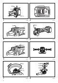 Makita SMERIGLIATRICE ANGOLARE 115mm 4,0Ah - DGA452 - Manuale Istruzioni - Page 2