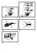 Makita SMERIGLIATRICE ANGOLARE 230mm - GA9040R - Manuale Istruzioni - Page 4