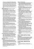 Makita SMERIGLIATR.ANGOLARE180mm - GA7020 - Manuale Istruzioni - Page 7