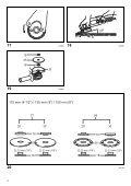 Makita SMERIGLIATRICE ANGOLARE150mm - GA6020 - Manuale Istruzioni - Page 4