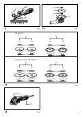 Makita SMERIGLIATRICE ANGOLARE 115mm - GA4530 - Manuale Istruzioni - Page 3