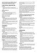 Makita SMERIGLIATRICE ANGOLARE 115mm - GA4530 - Manuale Istruzioni - Page 7