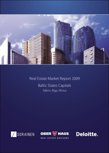 Real Estate Market Report 2009 Baltic States Capitals - Ober-Haus