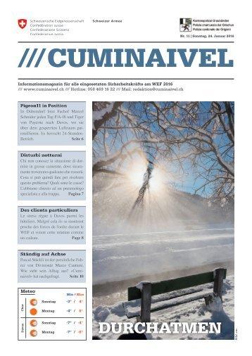 2016 CUMINAIVEL #11