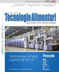 Tecnologie Alimentari 2 2013