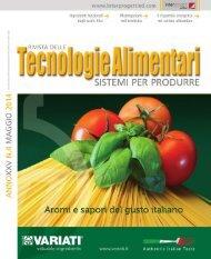 Tecnologie Alimentari 4 2014