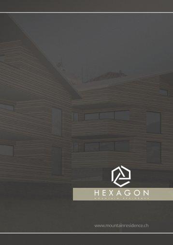 """Verkaufsdokumentation """"Hexagon"""", 7154 Ruschein (GR)"""