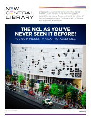 THE NCL AS YOU'VE NEVER SEEN IT BEFORE!