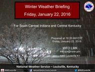 Winter Weather Briefing Friday January 22 2016