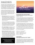 Peace Notes February 2016 - Word of Peace Lutheran Church - Page 4